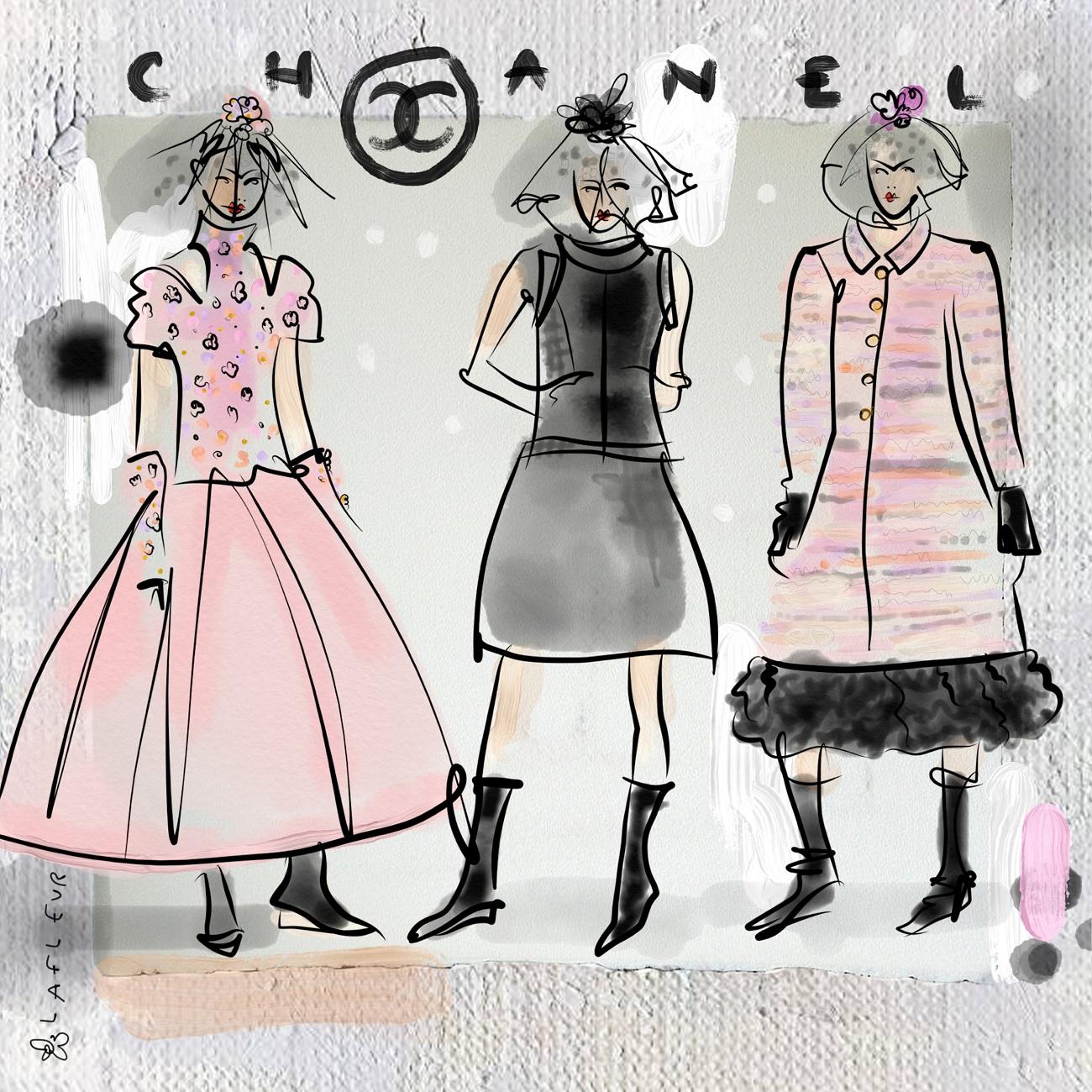 Chanel FW18 Blumenbabe Fashionela