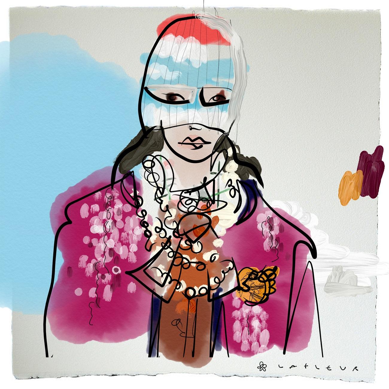 Gucci FW18 Blumenbabe Fashionela