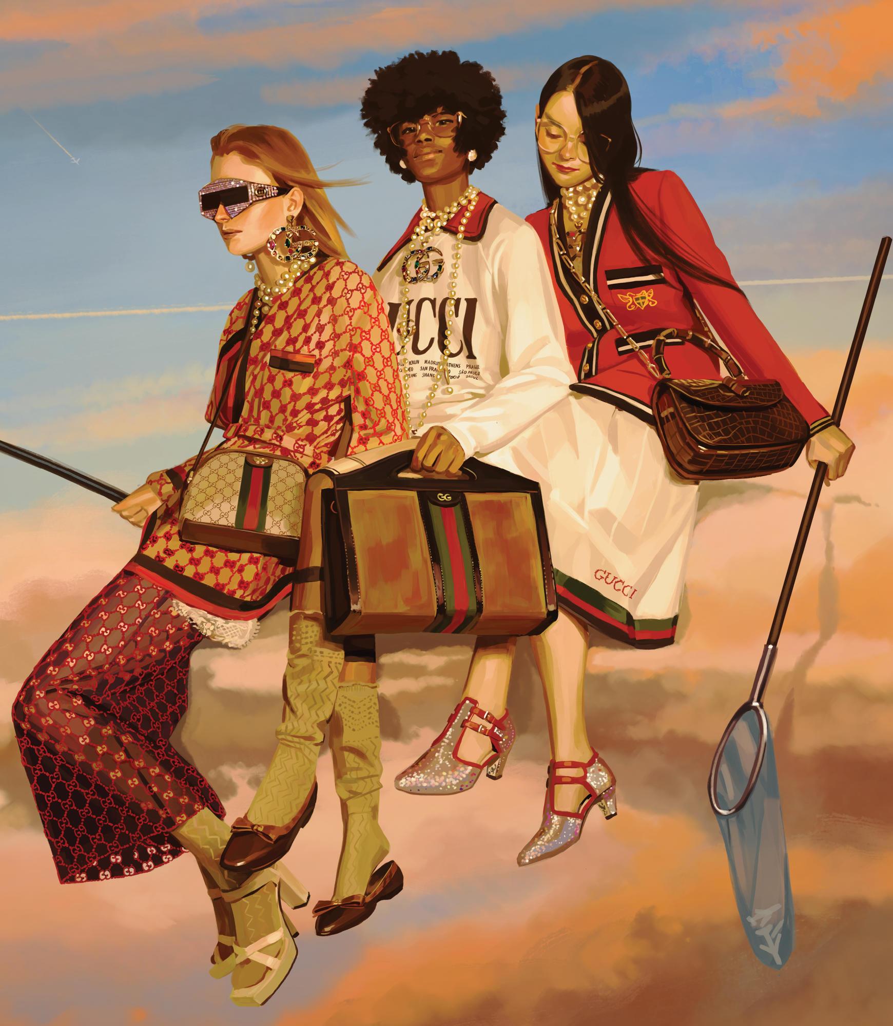 Gucci SS18 campaign Fashionela