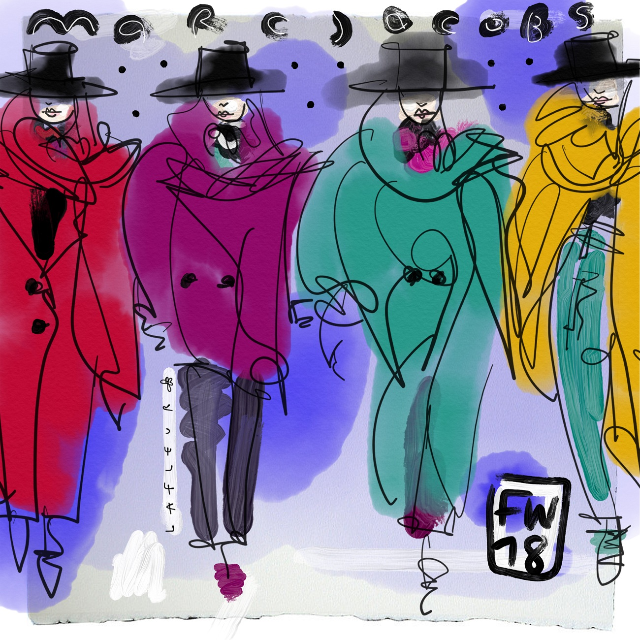 Marc Jacobs FW18 Blumenbabe Fashionela