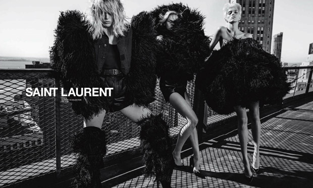 Saint Laurent SS18 Fashionela