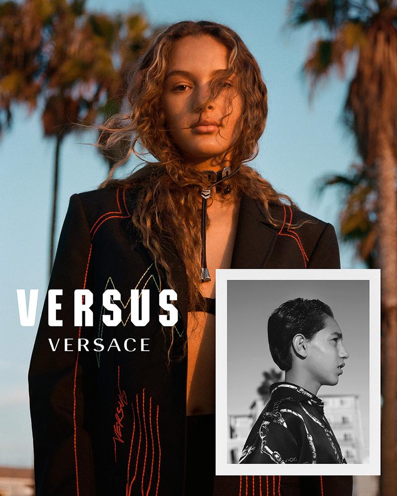 Versus Versace SS18 Campaign Fashionela