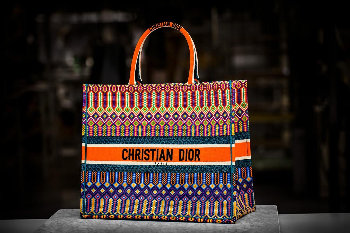 a78e4f0f9acc Dior Presents the Embroidered Book Tote bagFashionela