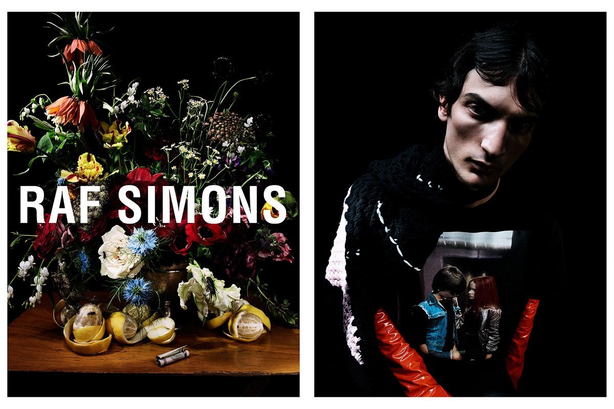 Raf Simons Fall 2018 campaign Fashionela