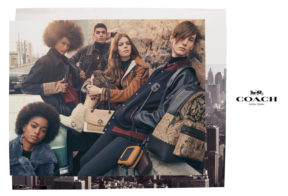 Coach Fall 2018 campaign Fashionela