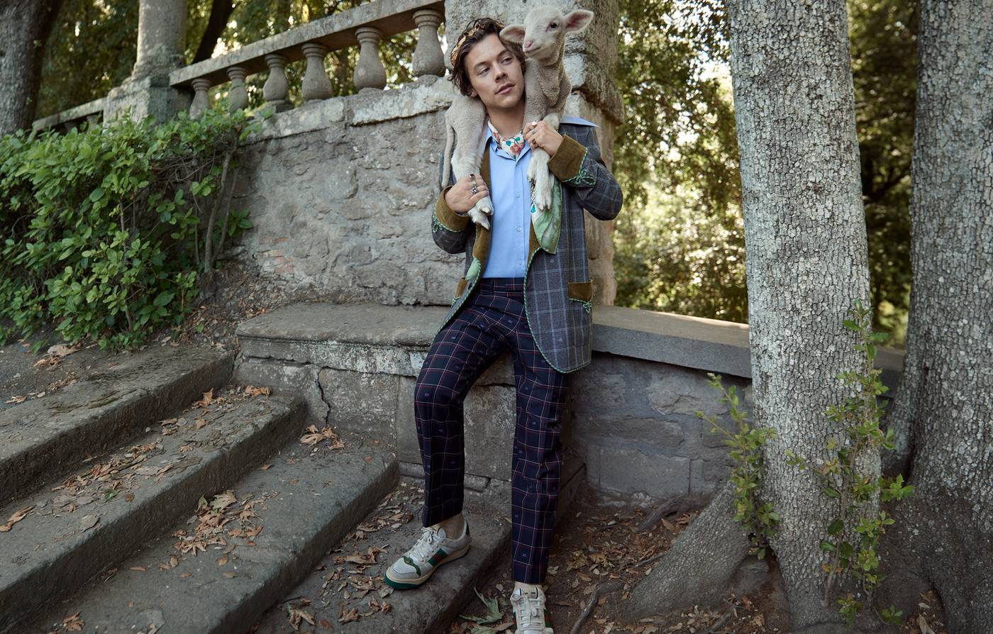 Gucci Harry Styles Cruise 2019 Fashionela