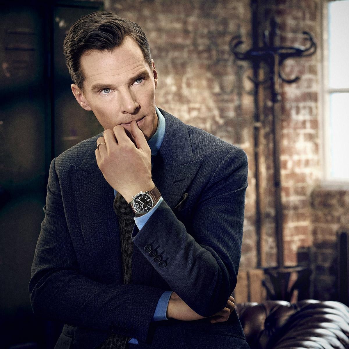 Benedict Cumberbatch Jaeger-LeCoultre Fashionela