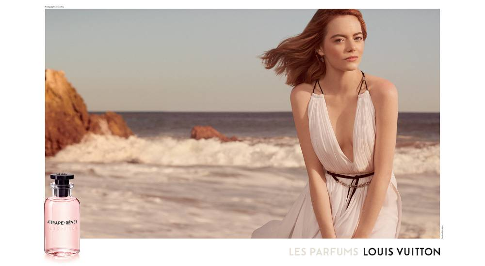 Louis Vuitton fragrance Emma Stone Fashionela