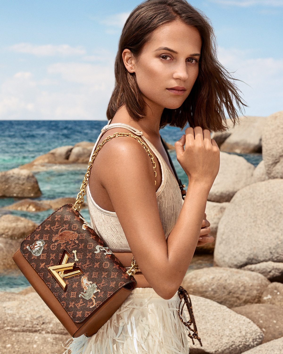 Louis Vuitton Cruise 2019 Alicia Vikander Fashionela