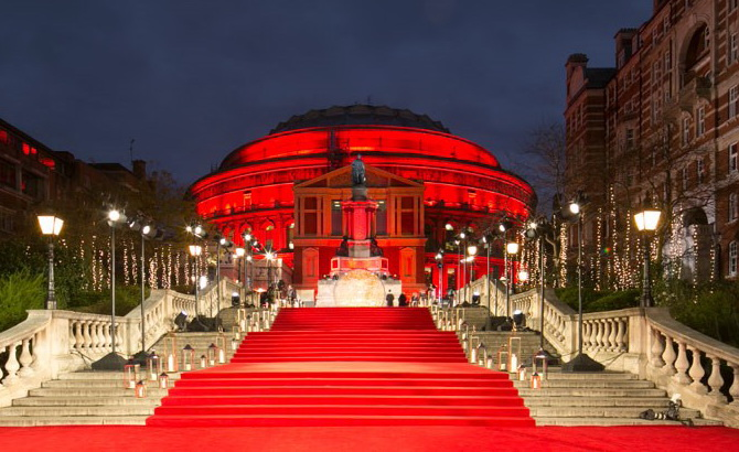 Royal Albert Hall Fashionela