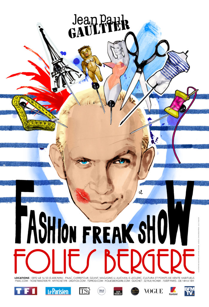 fashion freak show jean paul gaultier fashionela