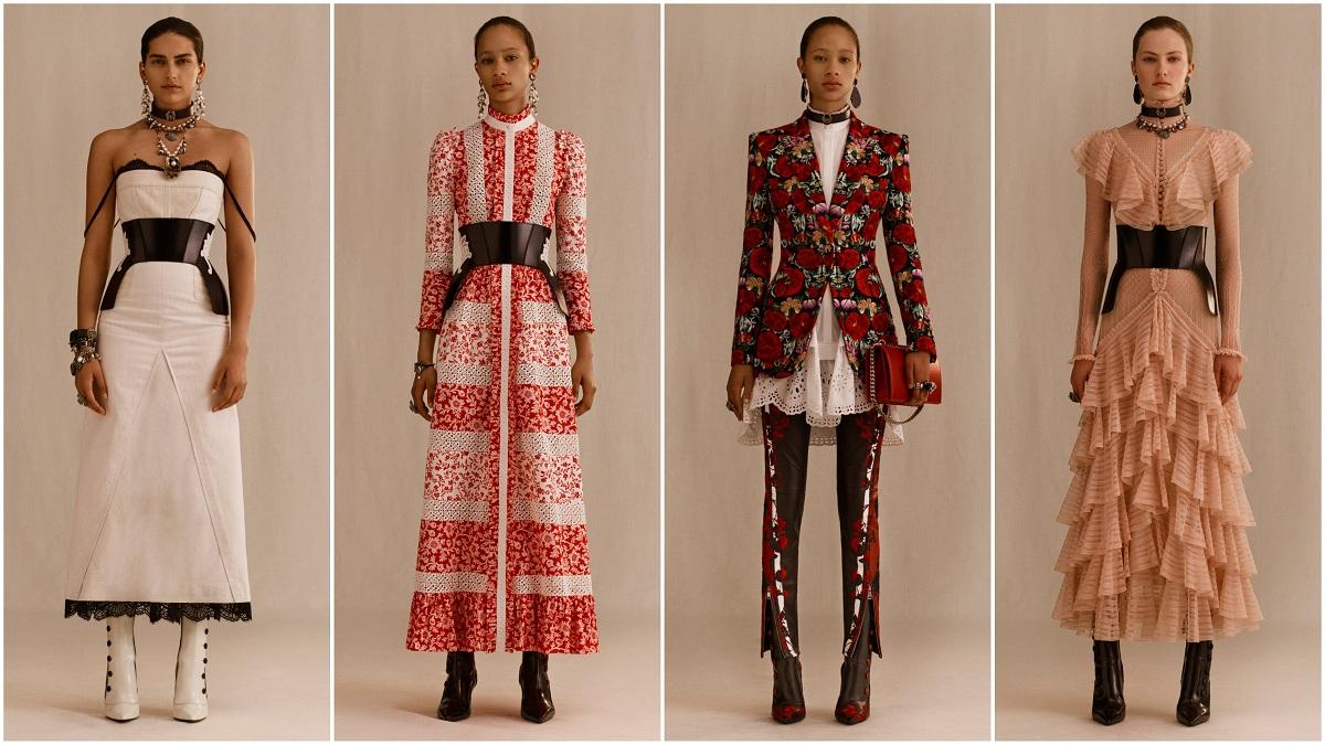 Alexander McQueen PreSpring 2019 Fashionela