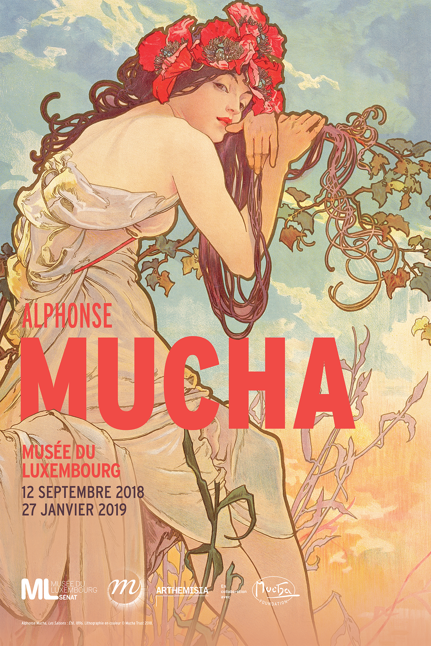 Alphonse Mucha Exhibition Fashionela