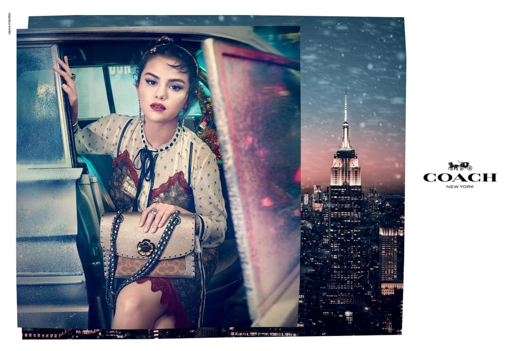 Coach Selena Gomez holiday campaign Fashionela