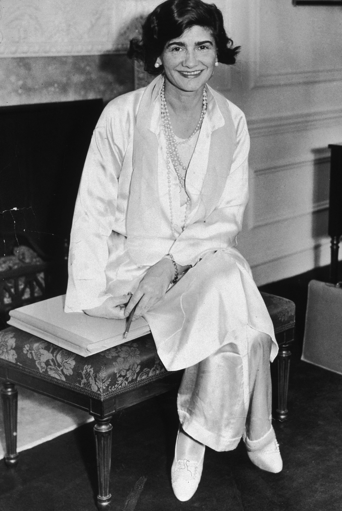 Coco Chanel NYC 1931 Fashionela