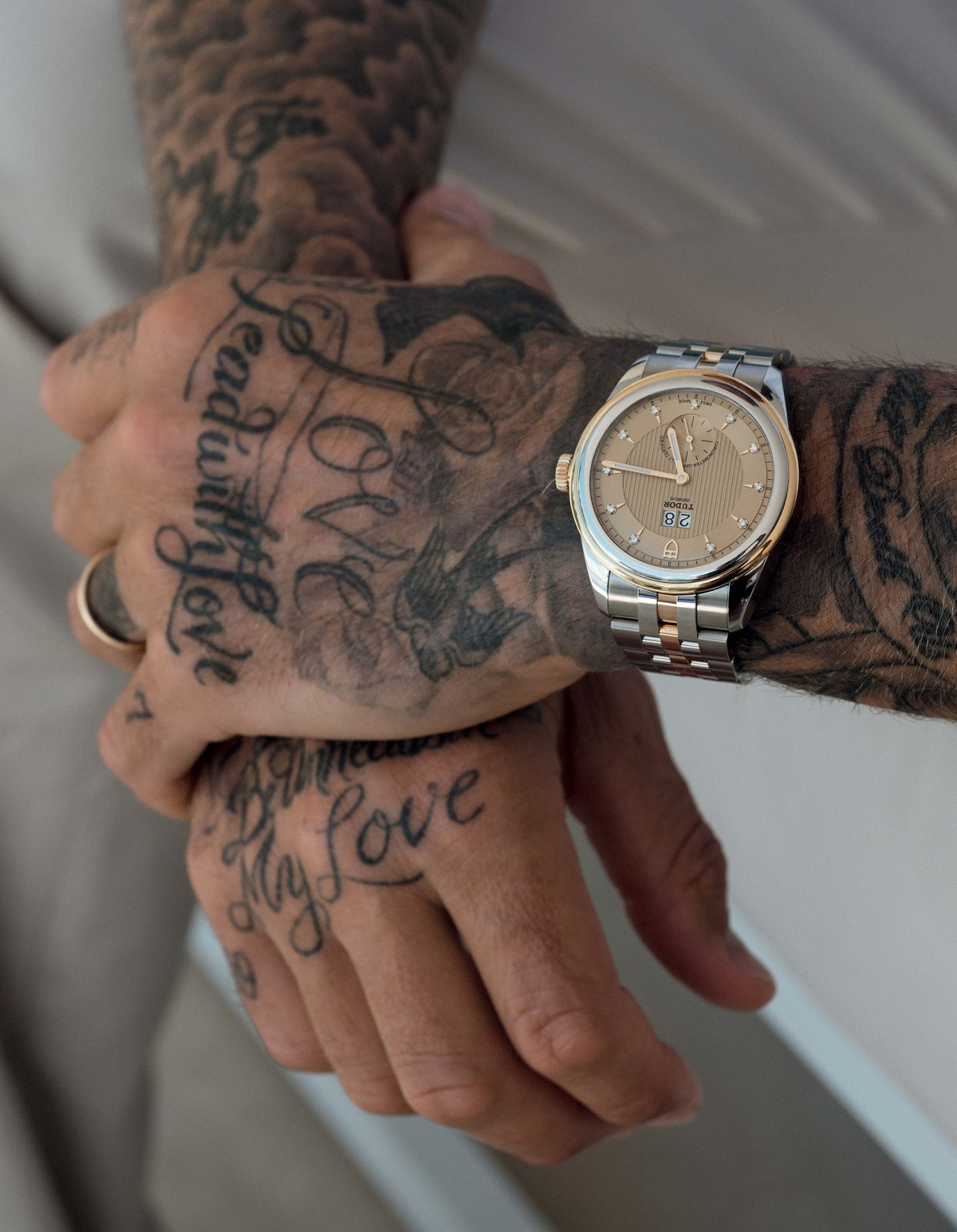 Tudor Glamour Double Date Beckham Fashionela