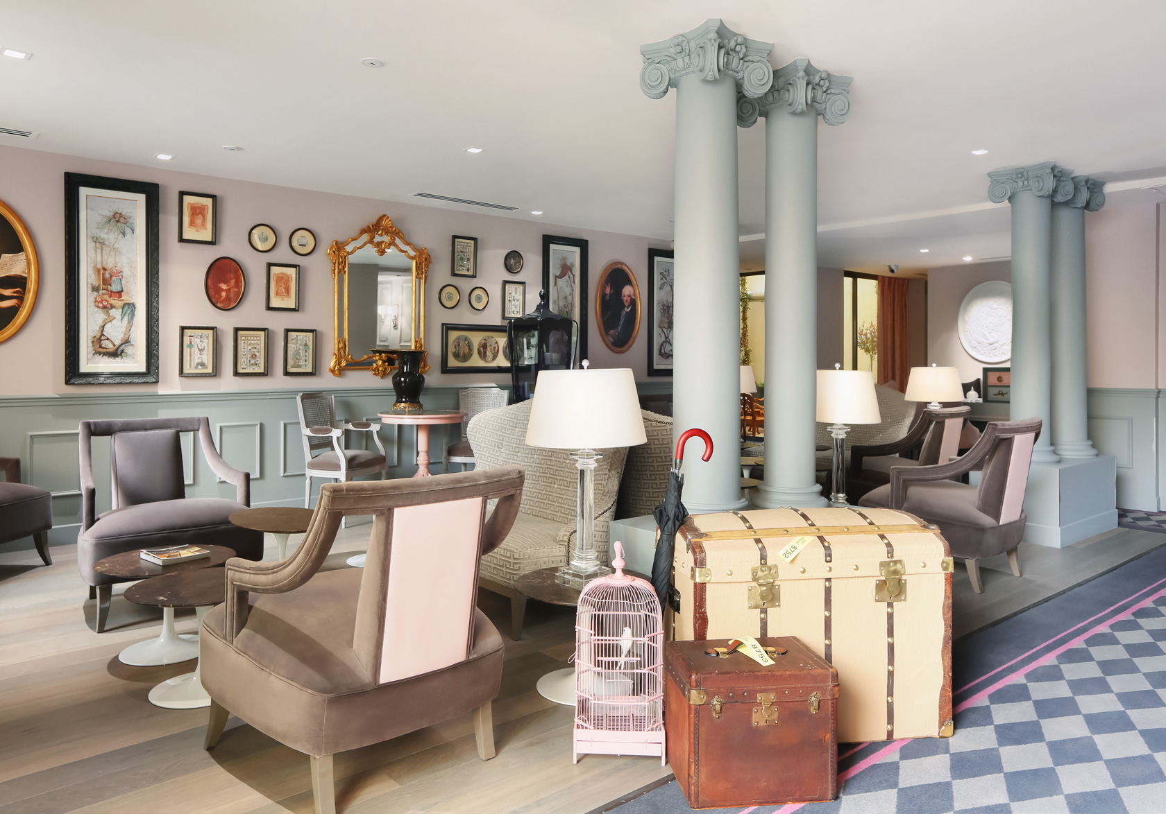 la maison favart lobby Fashionela