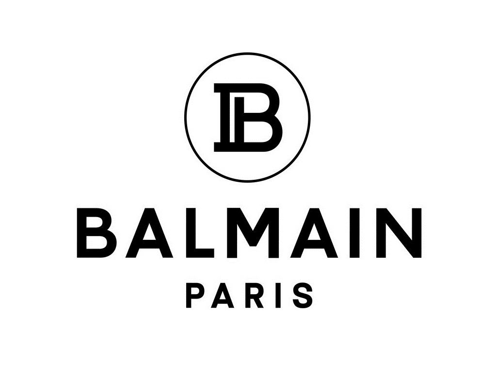 Balmain logo Fashionela