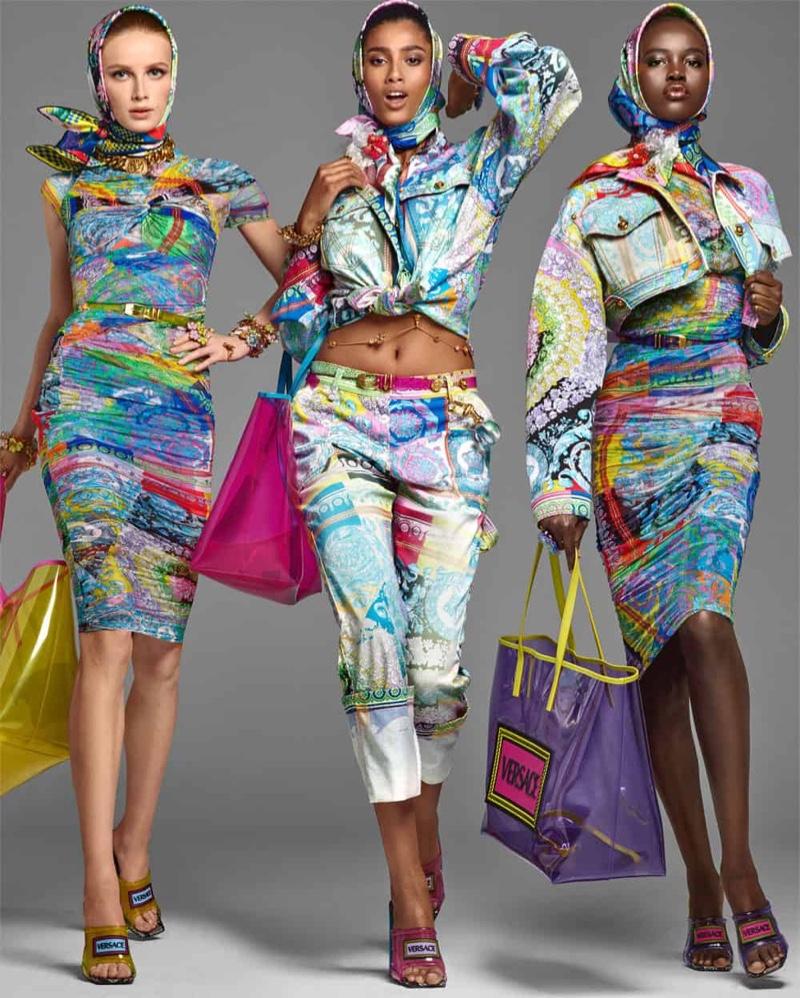 Versace Spring 2019 Fashionela