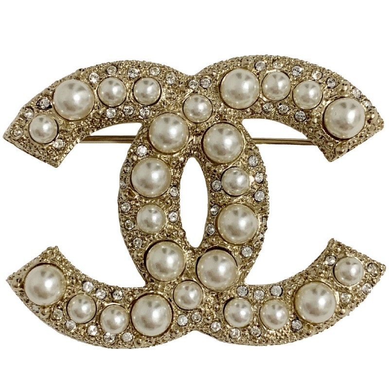 broche-chanel-perles-et-strass