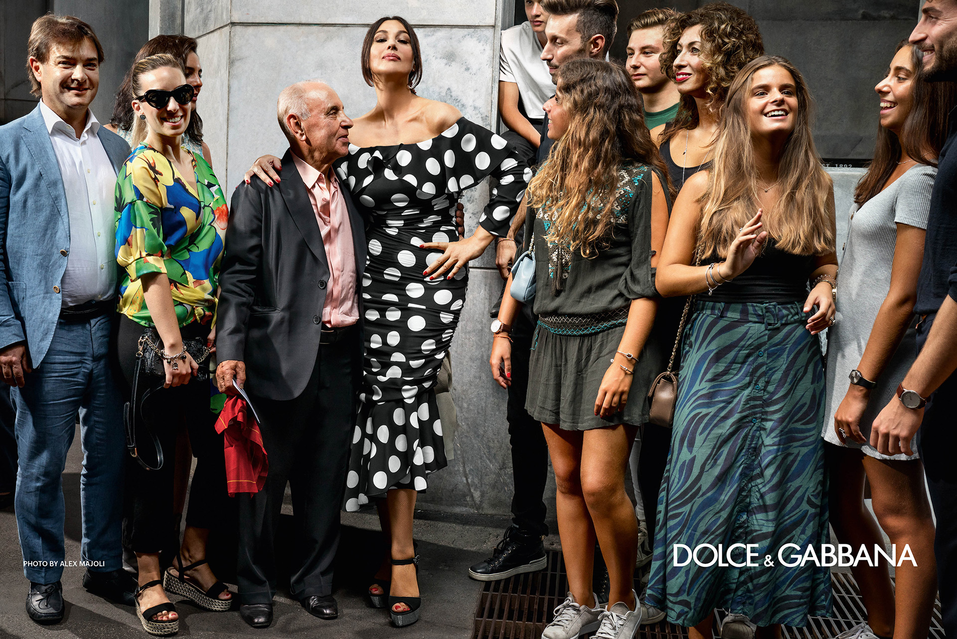 Alex Majoli Dolce and Gabbana SS2019 Fashionela
