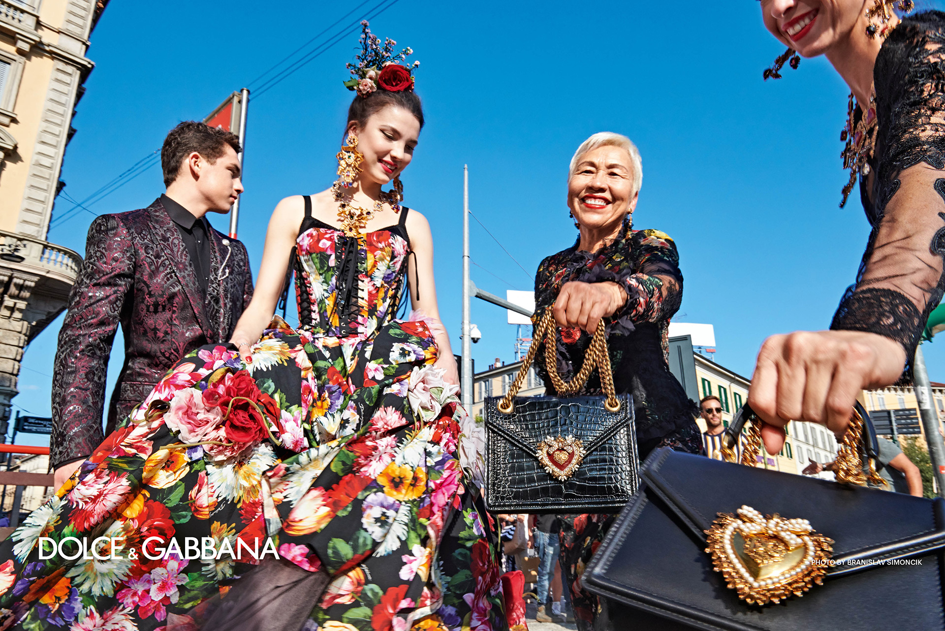 Branislav Simoncik Dolce and Gabbana SS2019 Fashionela