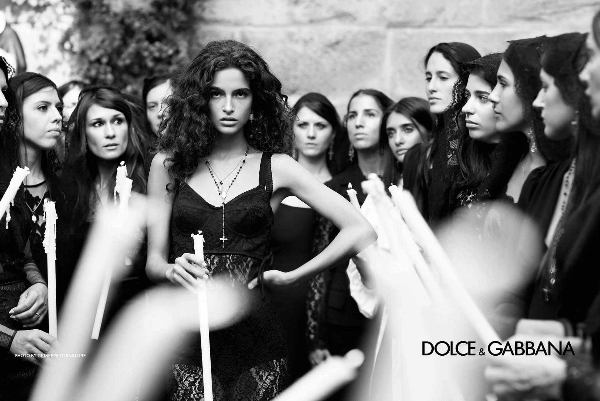 Giuseppe Tornatore Dolce and Gabbana SS2019 Fashionela