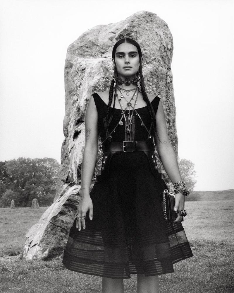 Alexander McQueen Spring 2019 Fashionela