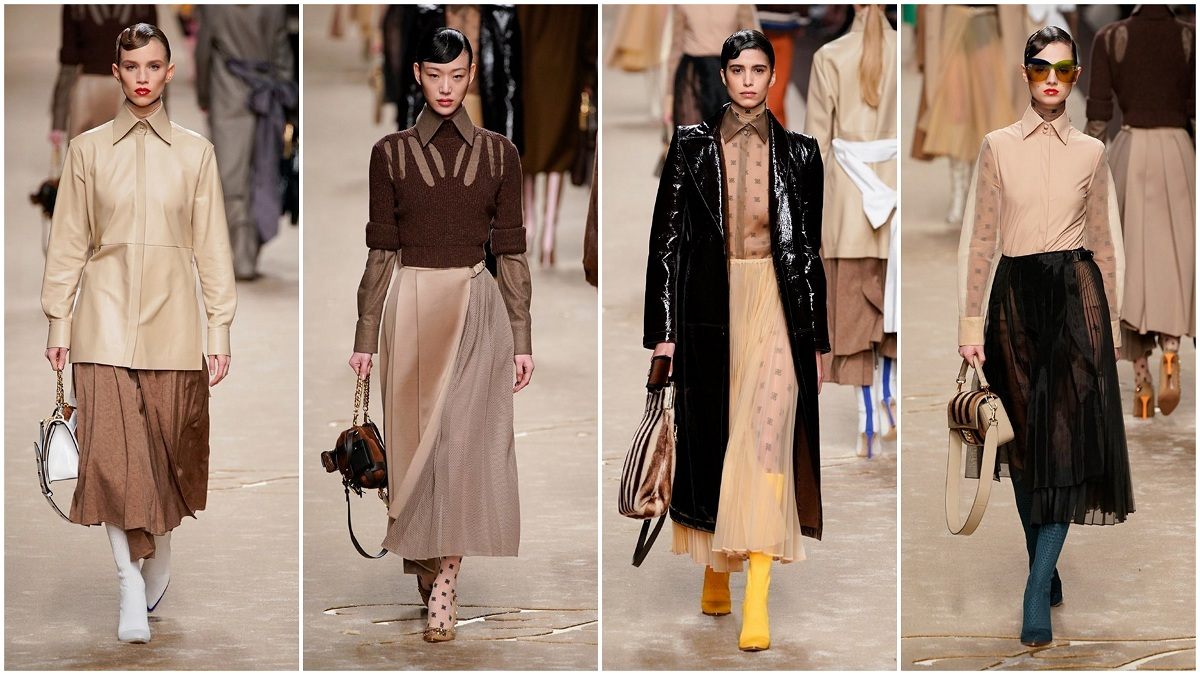 Fendi Fall 2019 Fashionela