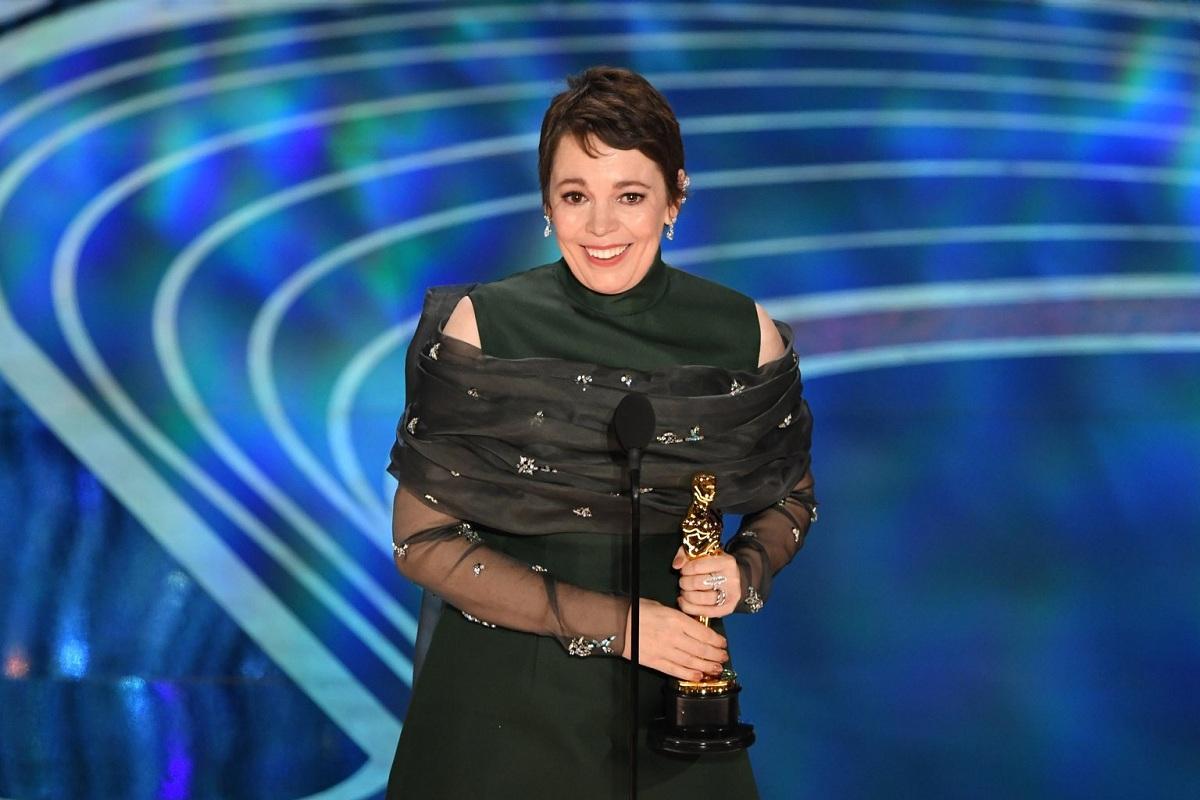 Olivia Colman Oscar 2019 Fashionela