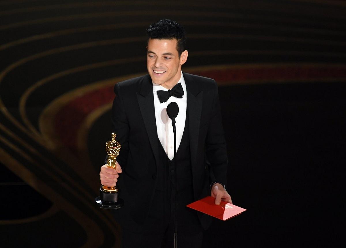 Rami Malek Oscar 2019 Fashionela