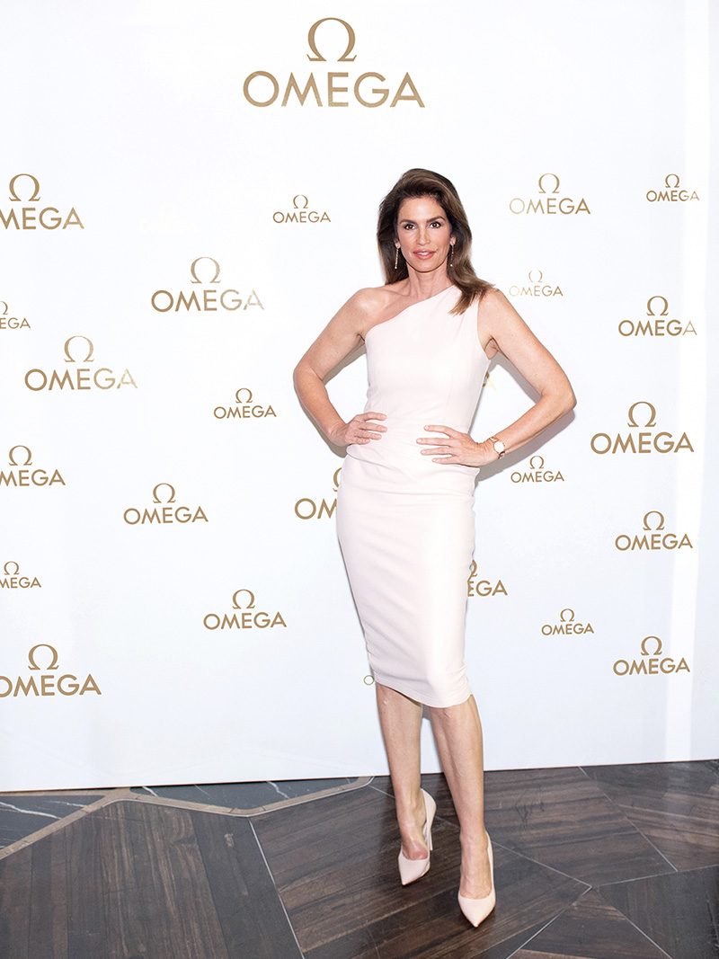 Cindy Crawford Omega Fashionela