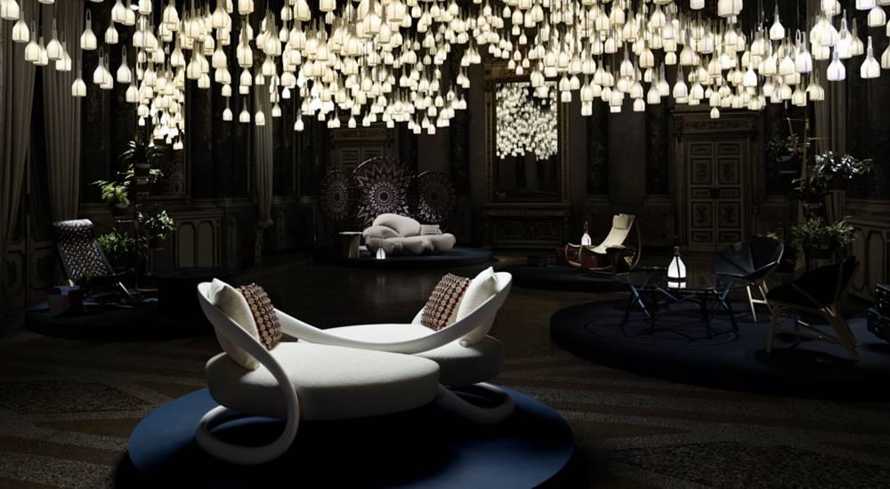 af7b4a5b Louis Vuitton shines at the 58th Milan Design WeekFashionela