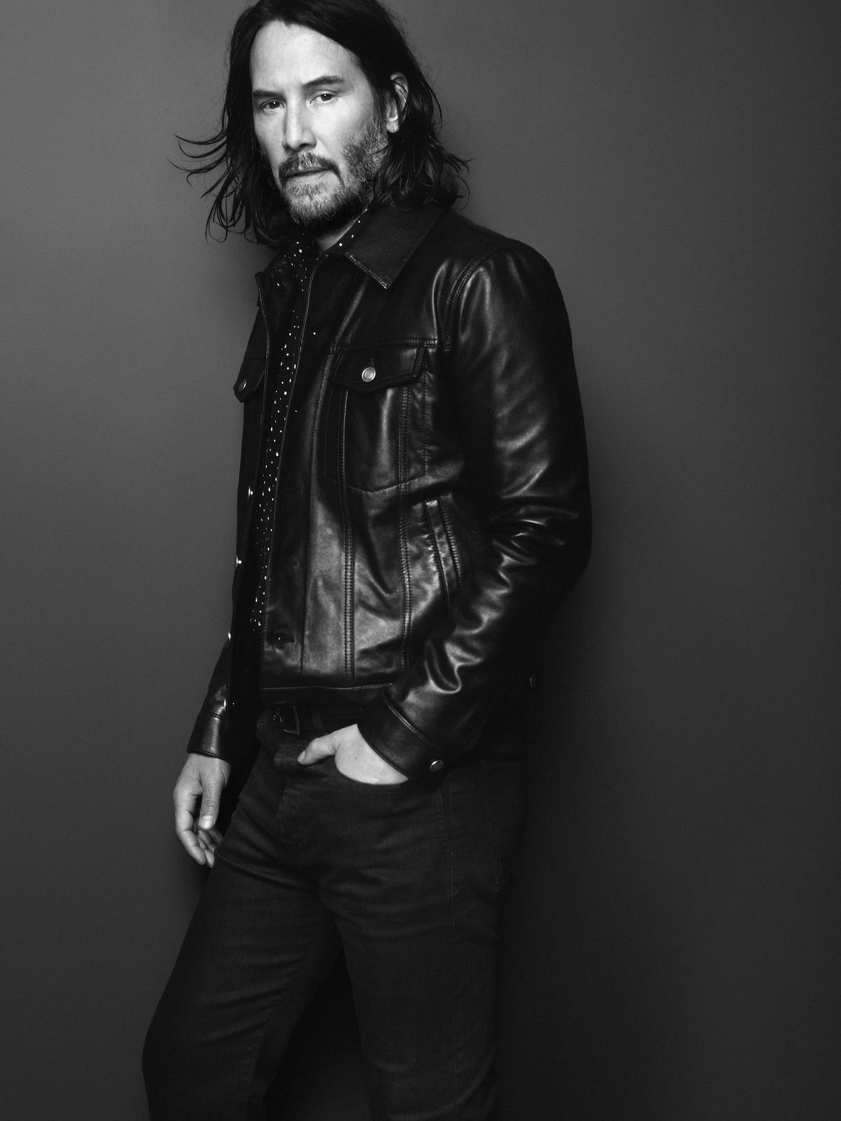 Saint Laurent Keanu Reeves Fashionela