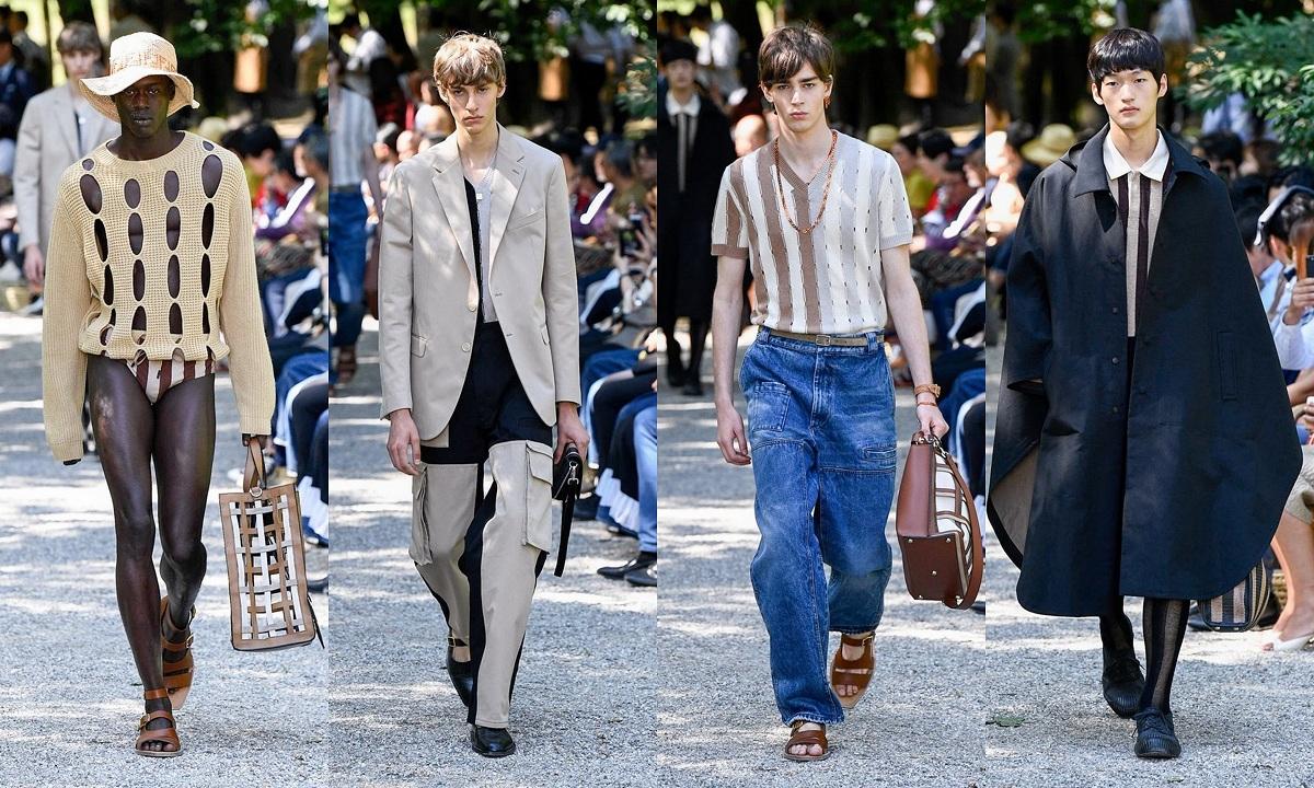 Fendi SS20 Menswear Fashionela