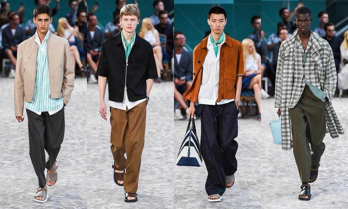Hermes SS20 Menswear Fashionela