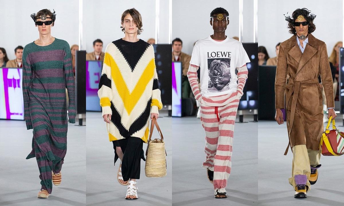 Loewe SS20 Menswear Fashionela