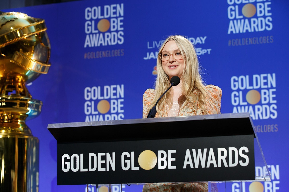 Dakota Fanning Golden Globe Awards Fashionela