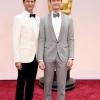 David Burtka i Neil Patrick Harris u Ermenegildo Zegna Couture odelu