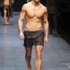 David Gandy for Dolce Gabanna S/S '11 photo by Monica Feudi