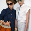 Colinne Michaelis and Kristina Salinovic, Fendi SS12 Backstage