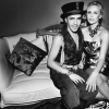John Galliano with Charlize Theron for Paris Match by Frederic Auerbach