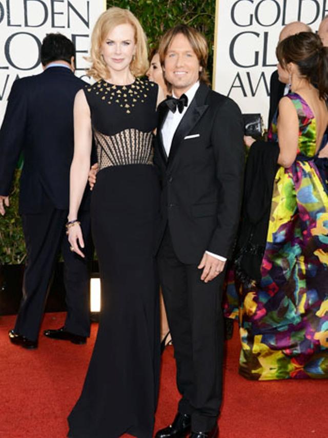 Nicole Kidman u Alexander McQueen haljini i njen suprug, Ketih Urban