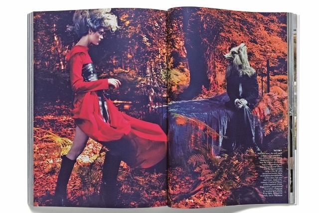 Slikanje za US Vogue Mert & Marcus, 2009