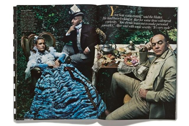 Slikanje za US Vogue, Annie Leibovitz, 2010