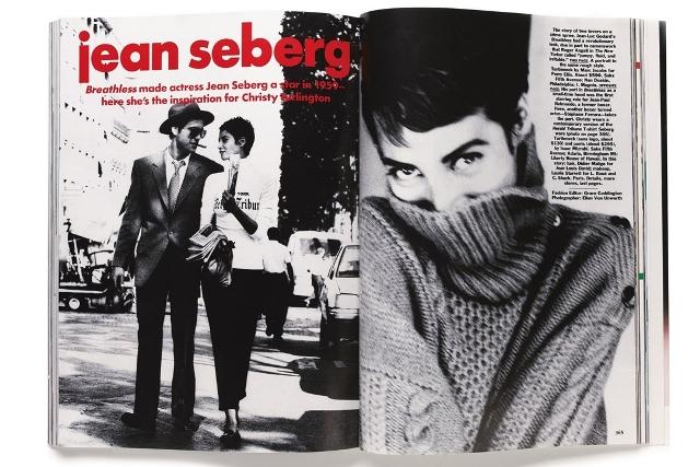 Slikanje za US Vogue, Ellen Von Unwerth, 1990