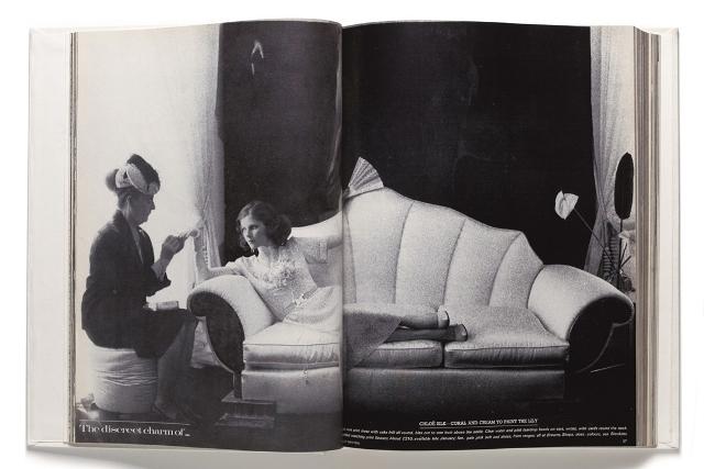Slikanje za britanski Vogue, Helmut Newton, 1973
