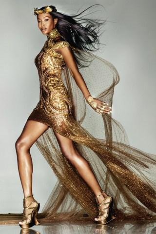 Naomi Campbell za Vogue UK