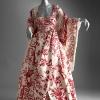 Večernja haljina sa printom, kolekcija proleće/leto 1998.