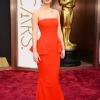 Jennifer Lawrence u crvenoj Dior Couture haljini